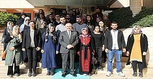 Kudüs Gezisine Giden Öğrenciler Mardin'e Döndü