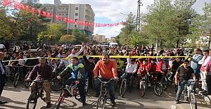 """Midyat'ta """"Küçük Adımlarla Büyük Yarınlara"""" Bisiklet Turunun Ardından"""