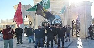 ABD'nin Kudüs'ü İsrail'in başkent olarak tanımasına Midyat'tan Tepki