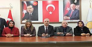AK Parti Mardin İl Başkanı Nihat Eri Göreve Başladı