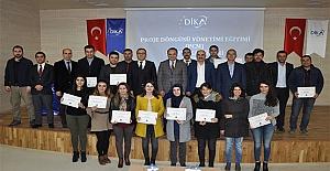 DİKA'dan Proje Yazma Eğitimi Sertifika Töreni