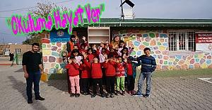 Kırsaldaki Okullara Kitaplık Yardımı