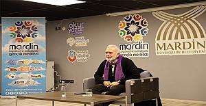 Oyuncu ve yazar Bahadır Yenişehirlioğlu Mardin'de