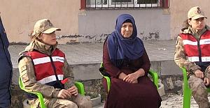 Jandarma'dan 08 Mart Dünya Kadınlar Günü Ziyaretleri