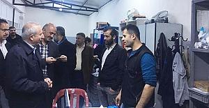 Miroğlu, Eroğlu Çorap ve İplik Fabrikasını Ziyaret Etti
