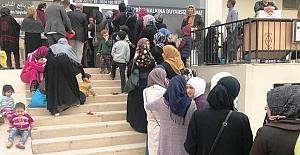 Suriyeli ailelere yardım yardım eli