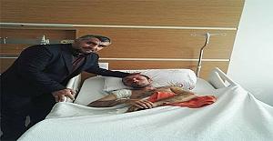 Zeytin Dalı Harekâtında Yaralanan Acun'un Sağlığı İyi