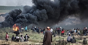 İsrail yine saldırdı! Gazze'den acı haber
