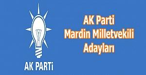bspan style=color:#0000ffAK Parti Mardin Milletvekili Adayları/span/b