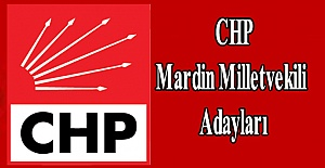 CHP Mardin Milletvekili Adayları