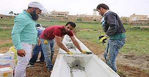 Kırsal Mahallelere Sıvat Dağıtımı Yapıldı