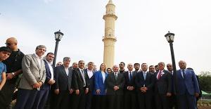 Zeynel Abidin Cami Törenle Açıldı