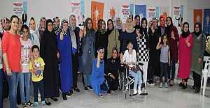 Midyatlı AK Kadınlar seçime hazır