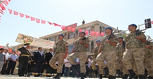 Midyat'ta 30 Ağustos Coşkusu