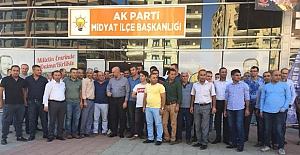 Midyat'ta Sığınmacı Kampı ÇalışanlarıBaşka İllere Gönderilmesi