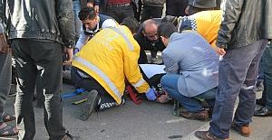 Midyat ta trafik kazası : 2 yaralı