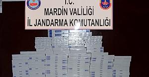 Nusaybin'de Bin 400 Paket kaçak sigara ele geçirildi