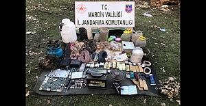 Mardin'de 55 Kilogram Patlayıcı Ele Geçirildi