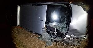 Midyat'ta Kamyonetin Çarptığı At Telef Oldu, 3 Kişi Yaralandı