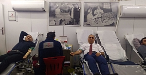 Midyat'ta 61 ünite kan toplandı