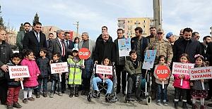 """""""Yaya Öncelikli Trafik Yılı"""" kampanyası"""