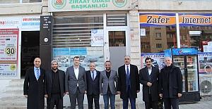 Nihat Özkan'dan, Ziraat Odasına Ziyaret