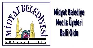 Midyat'ta belediye meclis üyeleri belli oldu