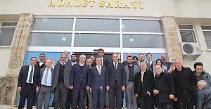 bspan style=color:#ff9900Midyat Belediye Başkanı Şahin, Mazbatasını.../span/b