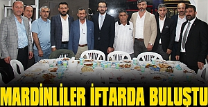 Zeytinburnu'nda, Mardinliler iftarda bir araya geldi