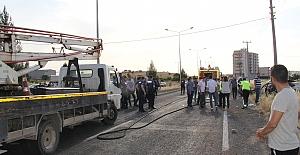 Midyat'ta trafik kazasın'da 6 kişi yarlandı