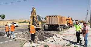 Mardin Karayolları Yama Çalışması Başlattı