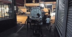 Midyat Belediyesi Kaldırımları Yıkıyor