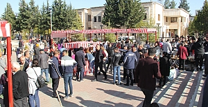 Midyat'ta Karadeniz Rüzgârı esti