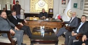 AK Parti Milletvekilleri Demirkaya ve Dinçel Başkan Şahin'i ziyaret etti