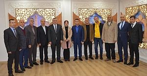 Başkan Şahin, Kent Konseyi başkan ve yürütme kurulunu kabul etti