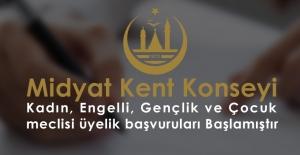 Kent Konseyi Alt Meclisleri İçin Başvurular Başladı