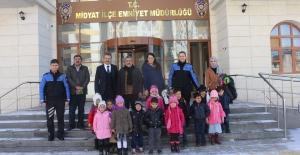 Anasınıfı öğrencilerinden Emniyet Müdürlüğüne ziyaret