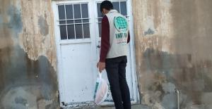 Mardin Umut Kervanı'dan 105 Aileye Kırmızı Et paketi