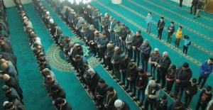 Regaip Kandili Midyat'ta dualarla idrak edildi