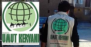 Mardin Umut Kervanı, 23 bin 200 lira yardım yaptı