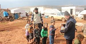 Mardin Yardımları İdlib'e Ulaştırıldı