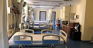 Devlet Hastanesinde yoğun bakım yatak sayısı artırıldı