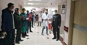 Mardin Park Hastanesinde İki hasta daha alkışlarla taburcu edildi