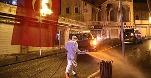 bspan style=color:#6633ccMardinde cadde ve sokaklar yıkanarak.../span/b