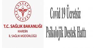 Covid 19 Ücretsiz Psikolojik Destek Hattı