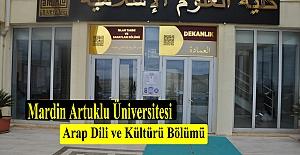 Mardin Artuklu Üniversitesi Arap Dili ve Kültürü Çalışmalarına Yeni Bir Soluk Getirdi