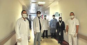 Mardin Devlet Hastanesinde COVİD-19 Laboratuvarı