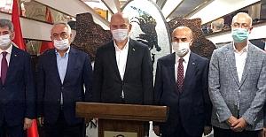 bspan style=color:#0000ffİçişleri Bakanı Soylu, Mardin temaslarına.../span/b