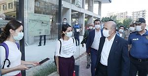 Vali Demirtaş, Başkanlığında Koronavirüs Denetimi