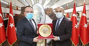 Elazığ Valisi Yırık'tan Vali Demirtaş'a ziyaret